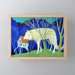 Side by Side Framed Mini Art Print