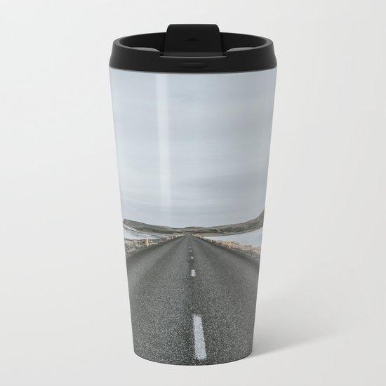 Empty Road - A Love Story Metal Travel Mug