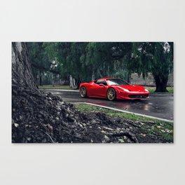 Ferrari458 Italy Canvas Print