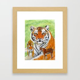 Keisha Tiger Framed Art Print