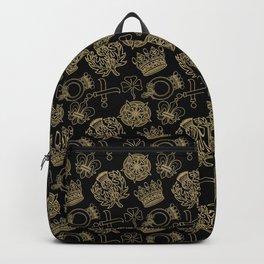 Royal symbols Backpack