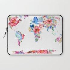 Optimistic World Laptop Sleeve