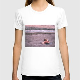 Sunset photo T-shirt