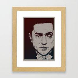 Monster Masters: Bela Lugosi Framed Art Print