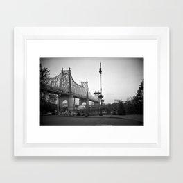 Woody Allen New York, Manhattan Framed Art Print