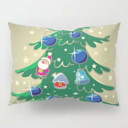 Christmas tree and presents Pillow Sham