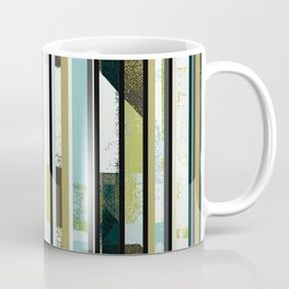 modern mid century, Graphic art, neutral colors, geometric art, circles, modern painting, abstract Coffee Mug