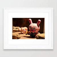 bacon Framed Art Prints featuring Bacon by m4Calliope