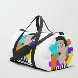 Uhhh... - Crazy Face - Portrait of Me Duffle Bag
