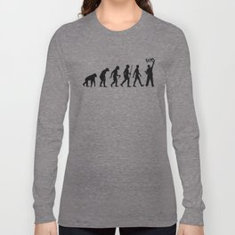 Evolution of Man #2 Long Sleeve T-shirt