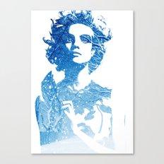 Snow: Natalia Vodianova Canvas Print