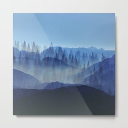 Woods Glory PQ Metal Print