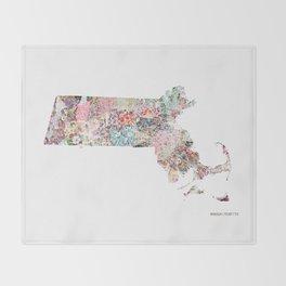 Massachusetts Throw Blanket