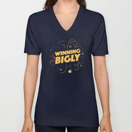 Winning Bigly Unisex V-Neck