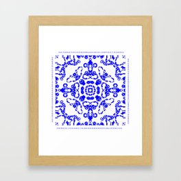 CA Fantasy Blue series #8 Framed Art Print