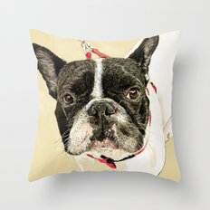 French Bulldog II Throw Pillow