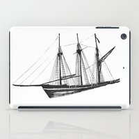 ship iPad Cases featuring Ship by GalaArt