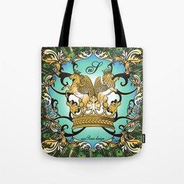 Royal Horse & Leo - animalprint Tote Bag