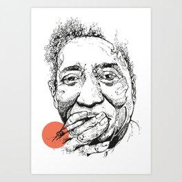 Muddy Waters - Get your mojo! Art Print