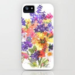 Sunny Bouquet iPhone Case