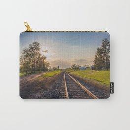 Railroad Tracks, Washburn, North Dakota 2 Carry-All Pouch