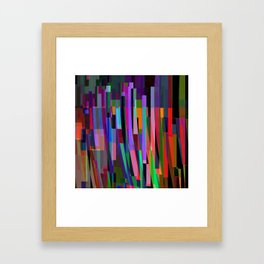 stand up for color Framed Art Print