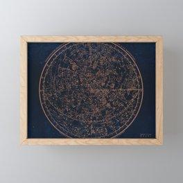 Constellations of the Northern Hemisphere Framed Mini Art Print