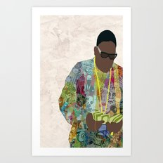 The Notorious Art Print