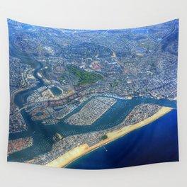 Newport Beach California Wall Tapestry