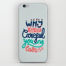 Why So Careful iPhone & iPod Skin