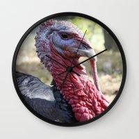 turkey Wall Clocks featuring Turkey by Gerstnecker Design