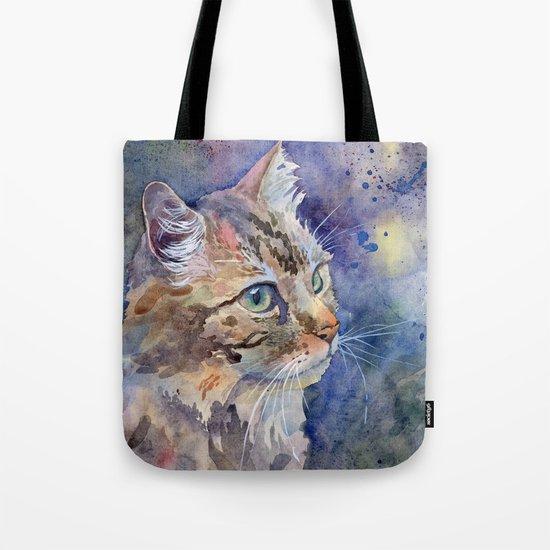 """""""Red Cat"""" Tote Bag"""