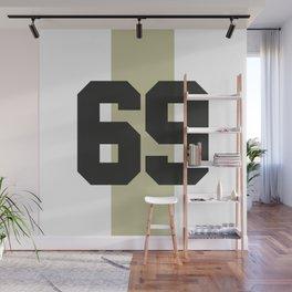 69 race Wall Mural