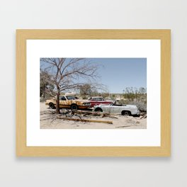 Here are Some Cars Framed Art Print