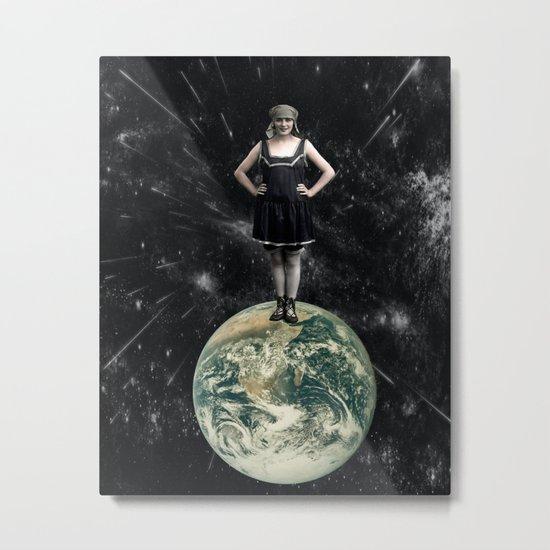 Miss World Metal Print