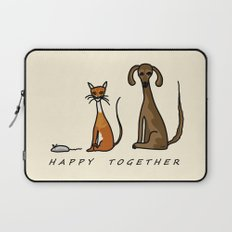 Happy Together - Domestic Laptop Sleeve
