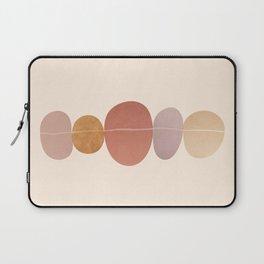 Abstraction_ROCK_LINE_ART_Minimalism_001 Laptop Sleeve