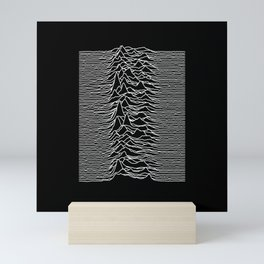 Joy Division - Unknown Pleasures Mini Art Print