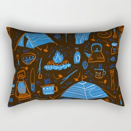 Camping Trip Rectangular Pillow