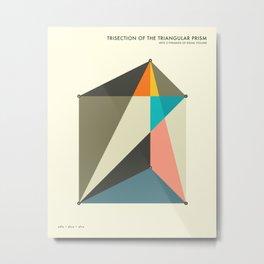 PRISM TRISECTION Metal Print