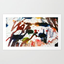 Splatter Series 3 Art Print