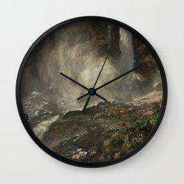 John Singer Sargent - Yoho Falls Wall Clock