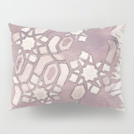 Cellular Geometry Pillow Sham