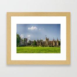 Knebworth House Framed Art Print