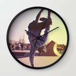 Skateboard Handstand Wall Clock