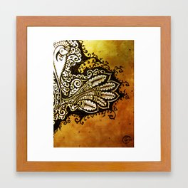 Feather Dance Framed Art Print