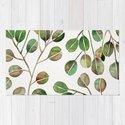 Silver Dollar Eucalyptus – Green Palette by catcoq