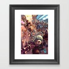 Piltover Framed Art Print