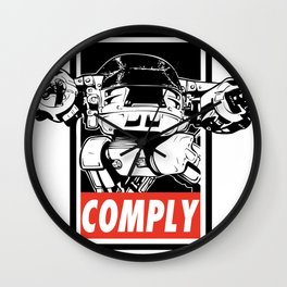 COMPLY Wall Clock