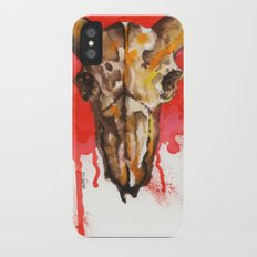 red moon skull Slim Case iPhone X